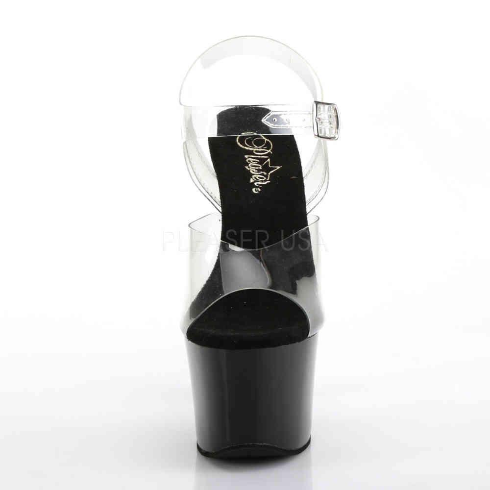 Pleaser Womens Sky-308CRS Ankle-Strap Sandal