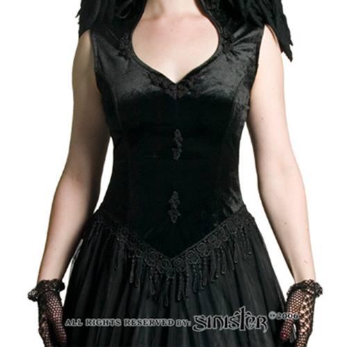 bd2b8b3c617 Attitude Holland Persimmon overbust corset zwart
