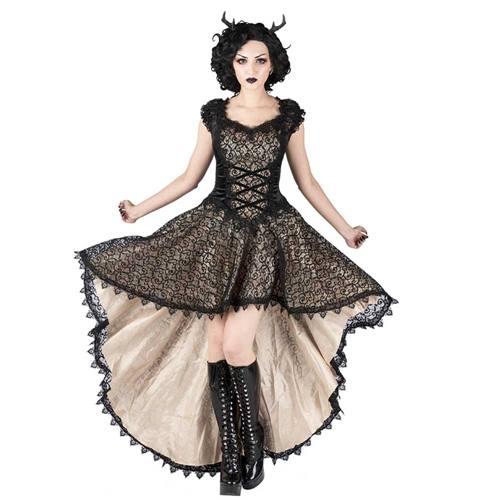 abffb2f309 Sinister Long dress 988 Cream