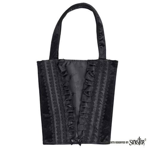 44e06bd2ae Sinister Handbag B091 Black