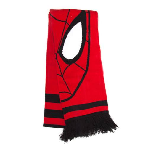 6d20b41a1fc Marvel - Ultimate Spider-Man gebreide sjaal rood zwart - Comics film  merchandise