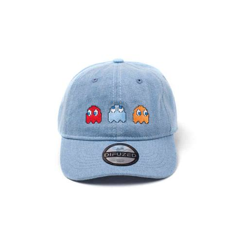 538e7f8e14ad6f Pac-Man - 2D Embroidery stone washed denim dad pet blauw