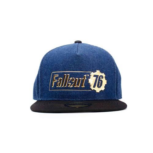 19f62160706060 Fallout - Vault 76 Vintage snapback trucker cap blue | Attitude Europe