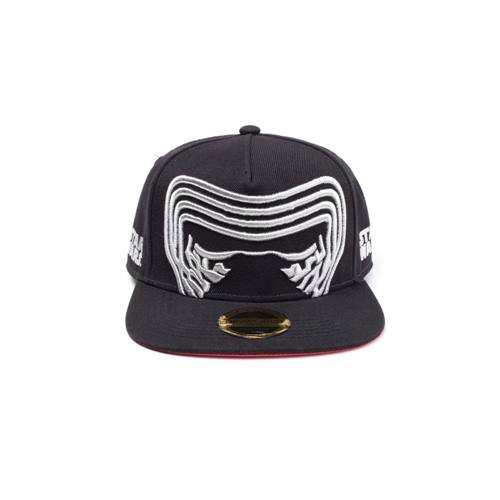 separation shoes 469a4 f5dae Star Wars The Last Jedi - Kylo Ren Inspired Mask snapback cap black - One  size
