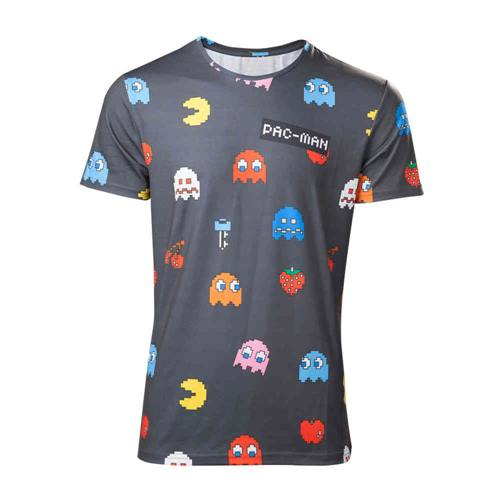 4bbc751e53ed Pac-Man - All Over Characters heren unisex T-shirt multicolours