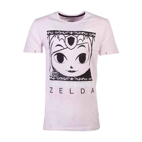 74b2edcde Nintendo Zelda Heren Tshirt Hyrule Princess Roze
