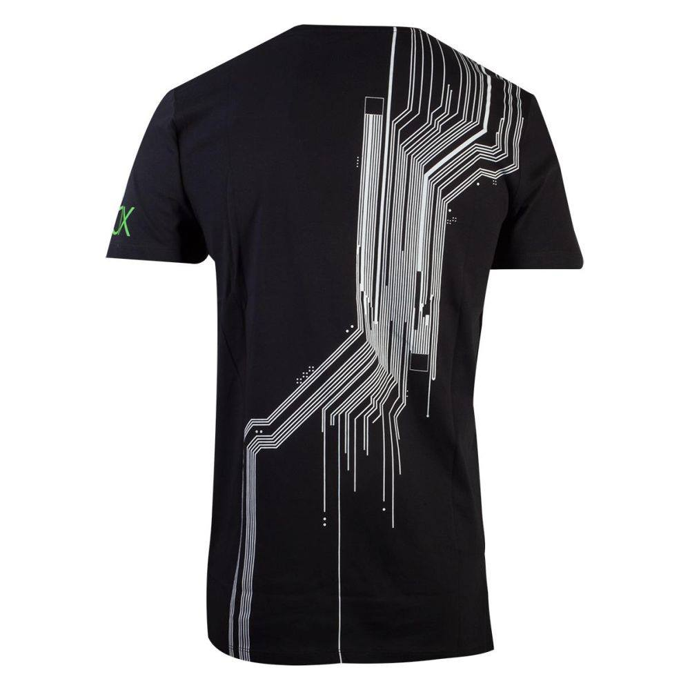 Xbox Mens Tshirt The System Black Attitude Europe