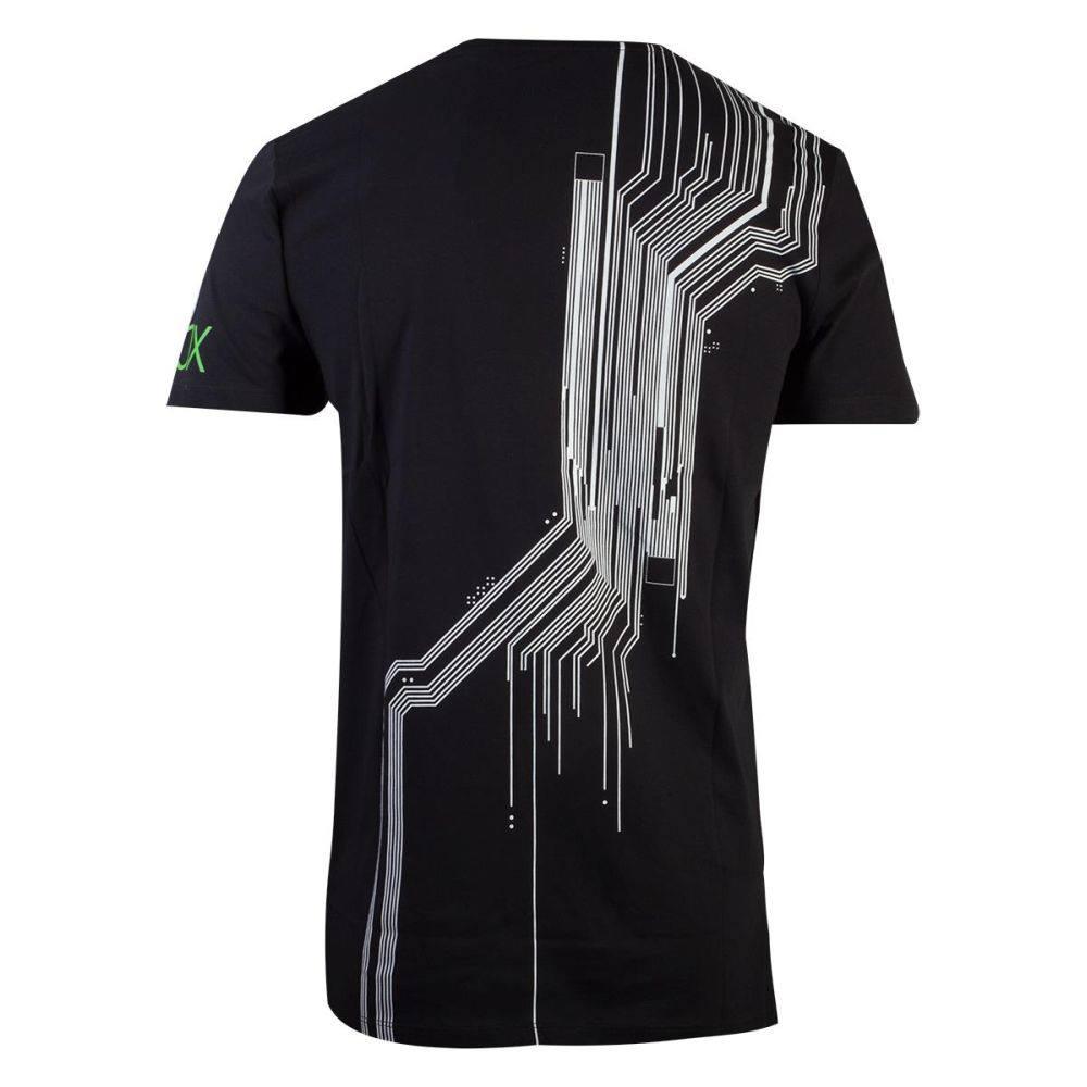Xbox Mens Tshirt The System Black Attitude Europe