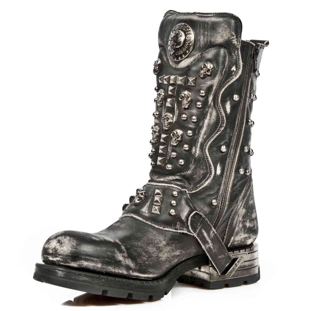 New Rock New Rock Boots MMR019S2 Black | Attitude Europe