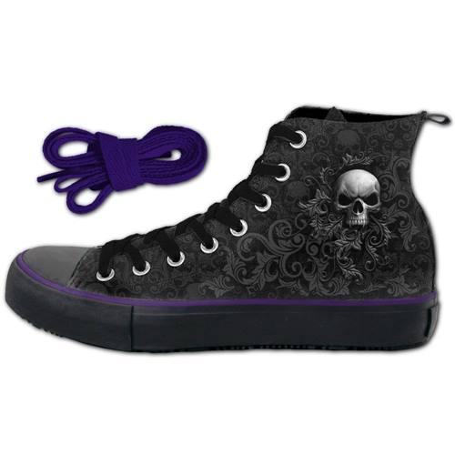 Flaming Spine SPIRAL Noir Chaussures