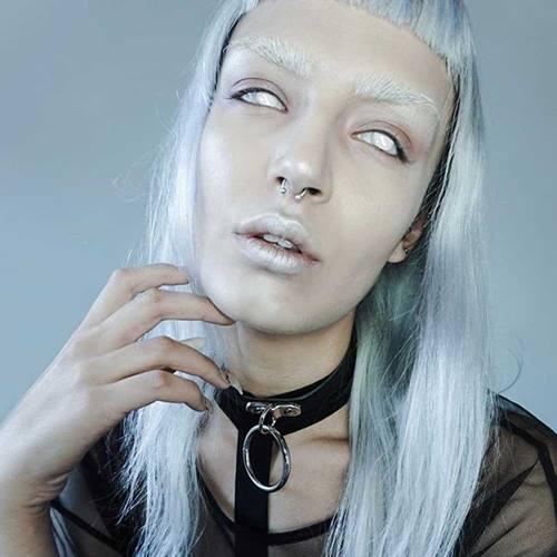 5a13bf91feb Leren choker nekband ketting met grote O-ring zwart - Gothic Metal Glamrock  Emo -