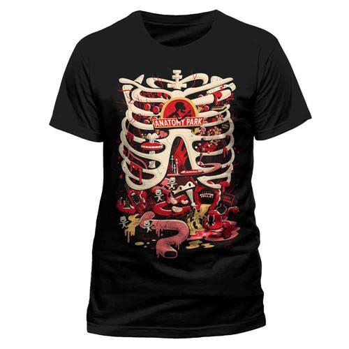 1f0afe21f5e155 Rick And Morty - Anatomy Park heren unisex T-shirt zwart - Televisie  cartoon merchandise