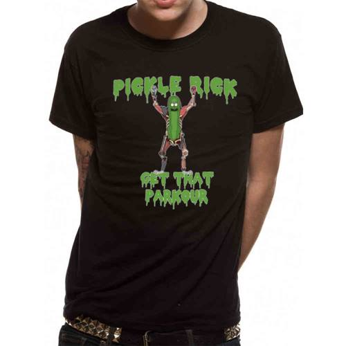 4c3993f763b Rick And Morty - Parkour men s unisex T-shirt black
