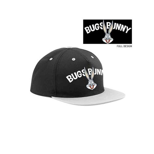 bb75434149f74 Looney Tunes - Bugs Bunny snapback pet zwart grijs