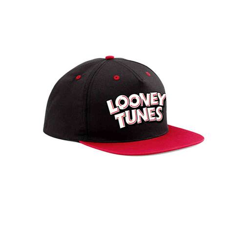 01adcd6948e51 Looney Tunes - Logo snapback pet zwart rood
