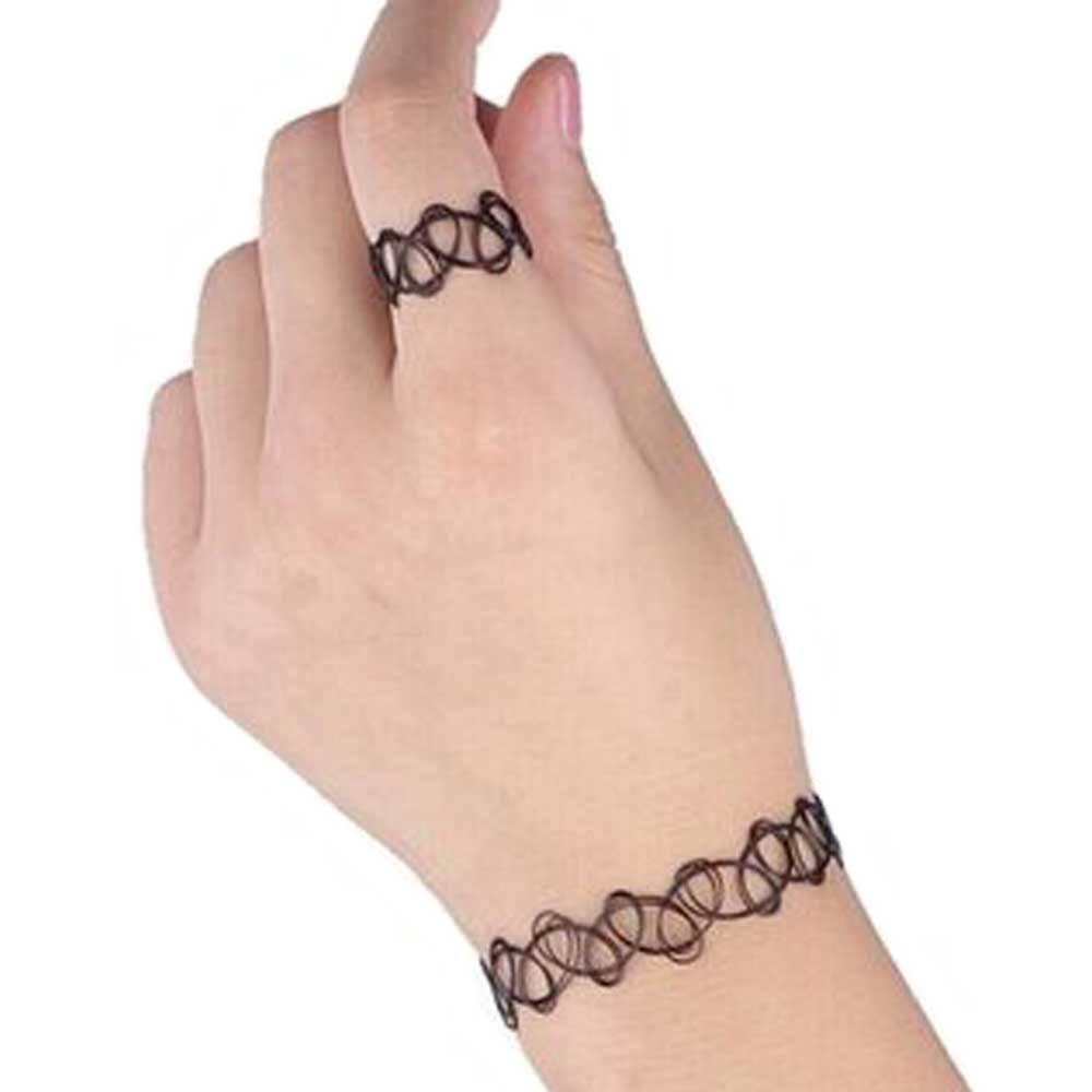 Zac S Alter Ego Zac S Alter Ego Bracelet Tattoo Bracelet And Ring Set B Treble clef, sea shells, tattoo by chucho. alter ego bracelet tattoo bracelet