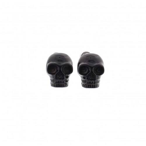 c6aff5de83d Small skull stud earrings black - Zac s Alter Ego