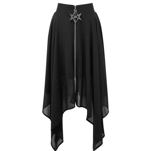bf6c0921ed7f33 Killstar Lange rok Sacred Sixx Zwart