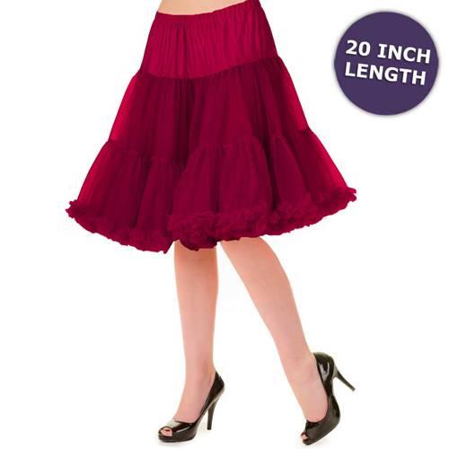 247dddf04ae Banned Petticoat zwart - Vintage Retro Rockabilly | Attitude Holland