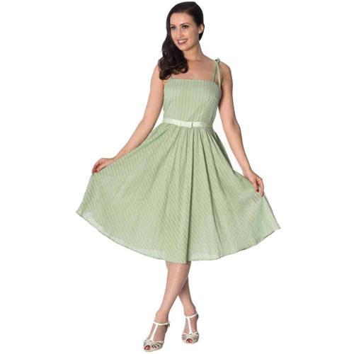 a3d0d1012c4fde Make a Wish zomer jurk gebroken groen