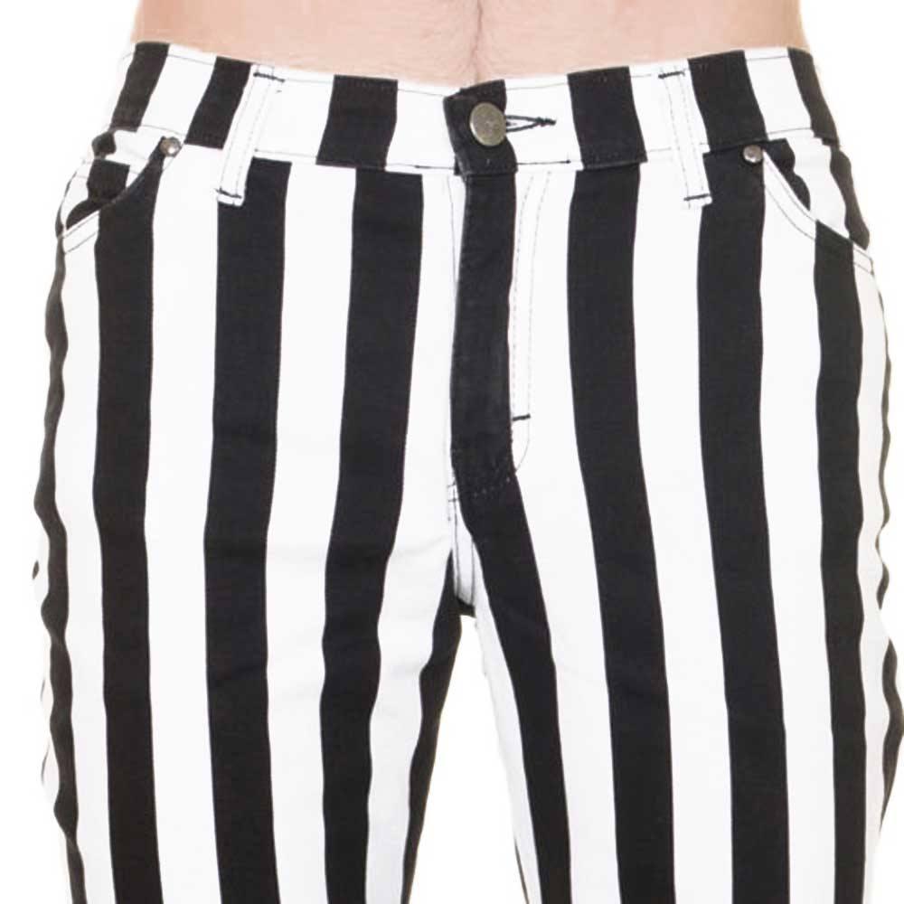 Wonderbaarlijk Jist Jist Skinny jeans Striped Black/White   Attitude Europe IS-24