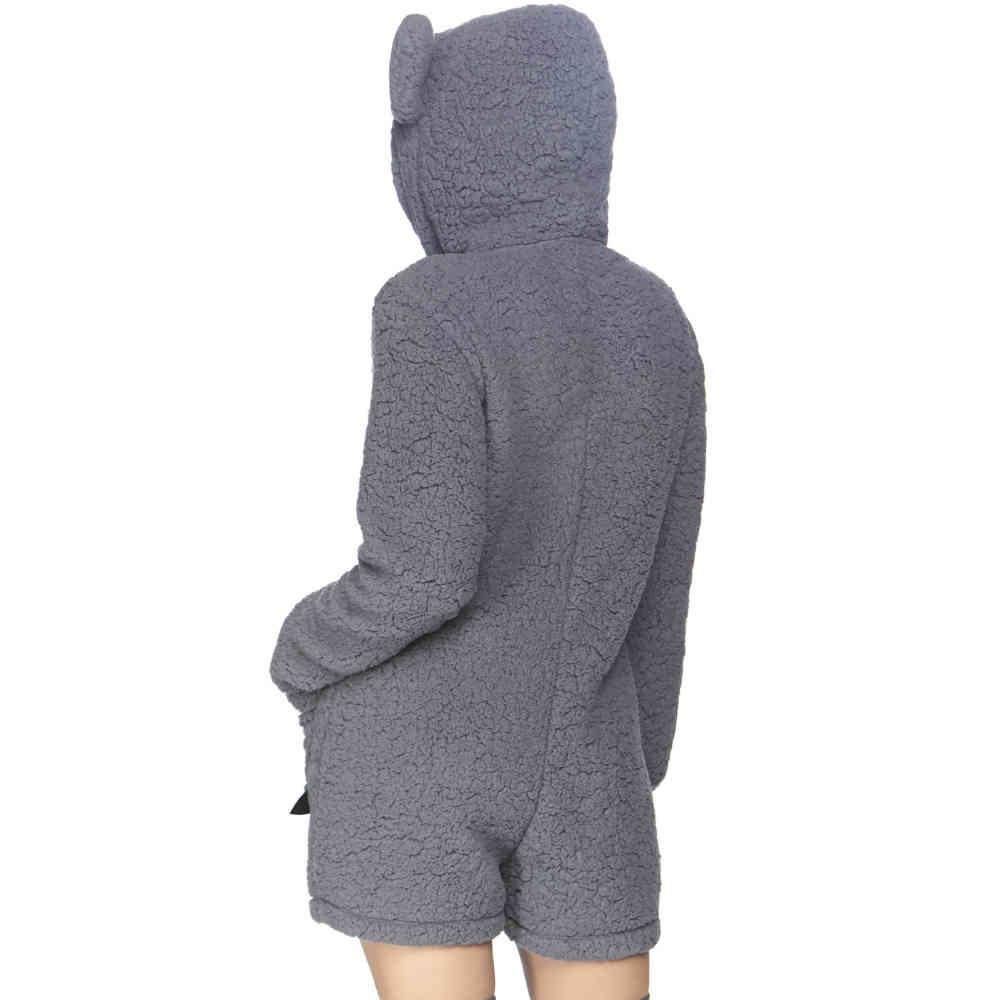 Leg Avenue Leg Avenue Costume Cuddle Koala Grey Attitude