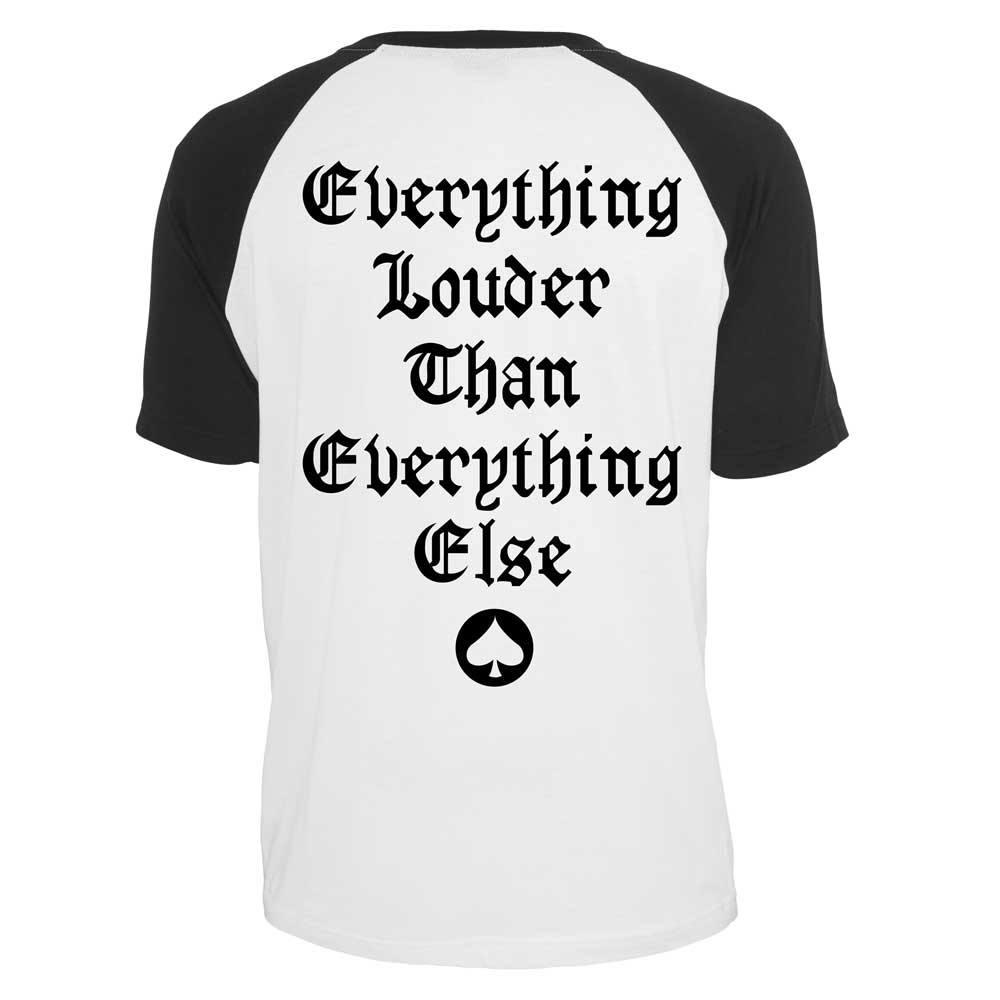 Motörhead Everything Louder T-Shirt white-black