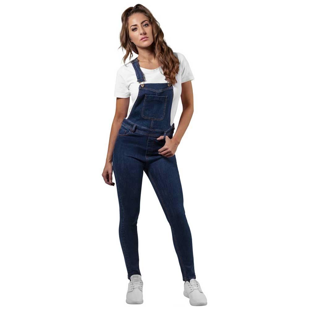 d56c7be43da Urban Classics Dungaree ladies garden pants blue | Attitude Europe