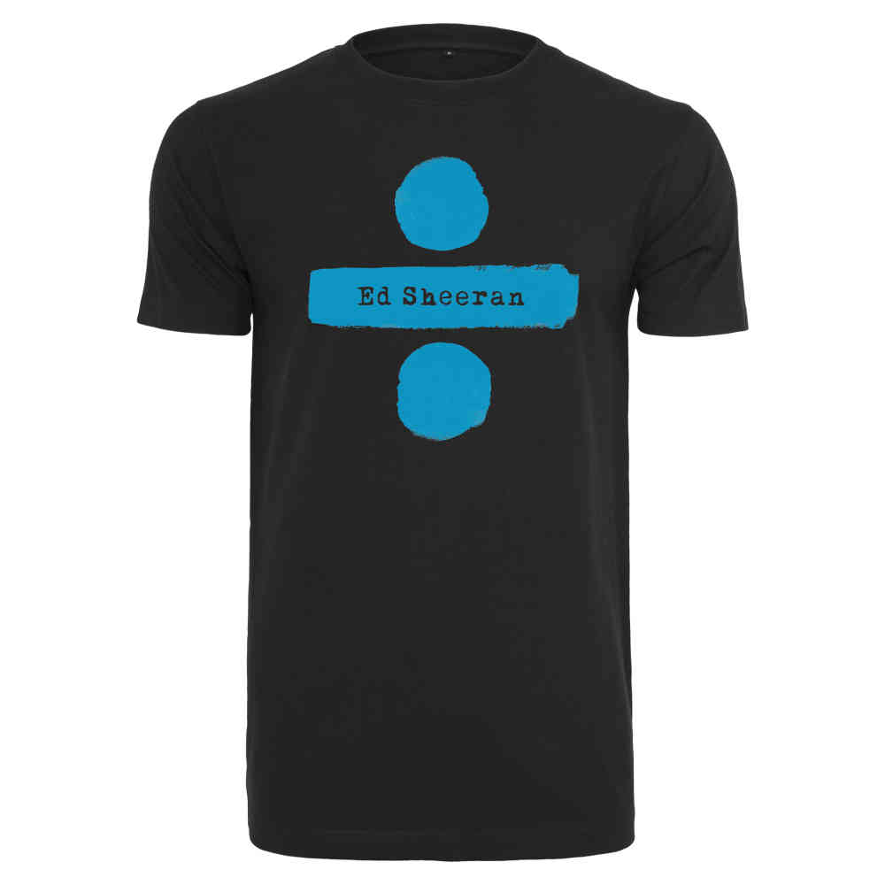 Ed Sheeran Heren Tshirt Chords Zwart | Attitude Holland