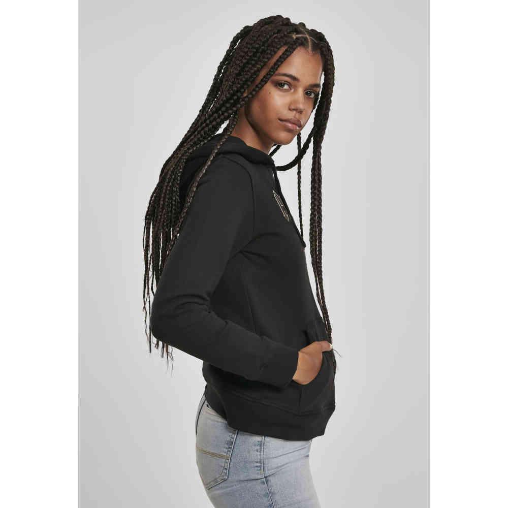Urban Classics Women Zip Hoodie Short Worker