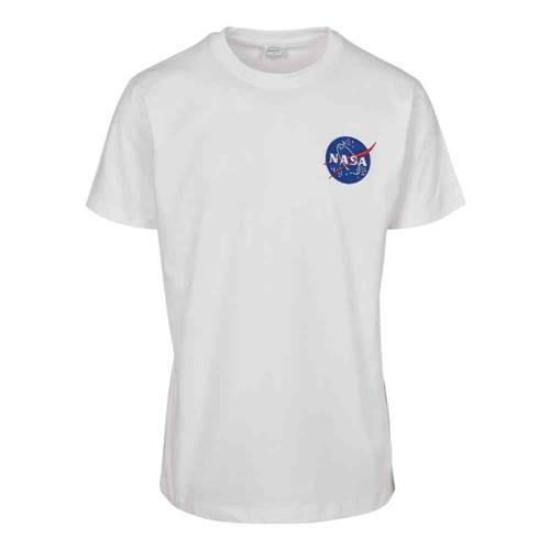 bc21b4f403b Urban Classics Heren Tshirt NASA Logo Embroidery Wit