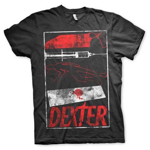 2215ff72eec Dexter - Signs mens unisex T-shirt black - Merchandise television