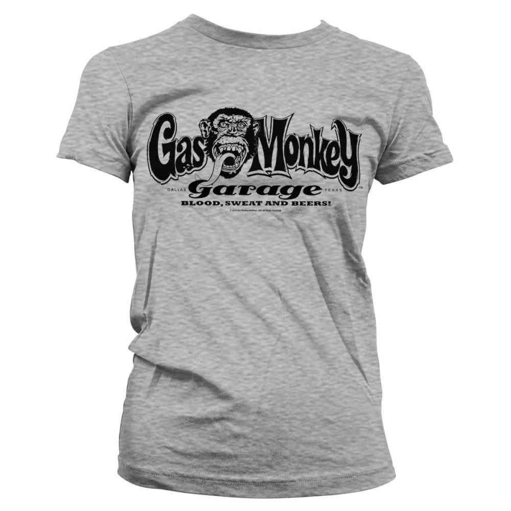 Gas Monkey Garage T-Shirt Retro Shade Black