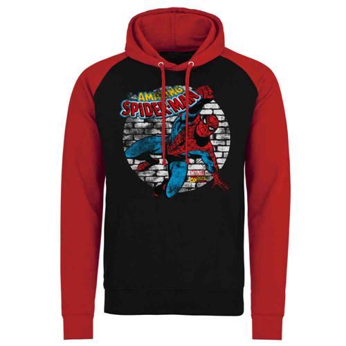 f7e14dc6 Marvel Spiderman Hoodie/trui Distressed Zwart