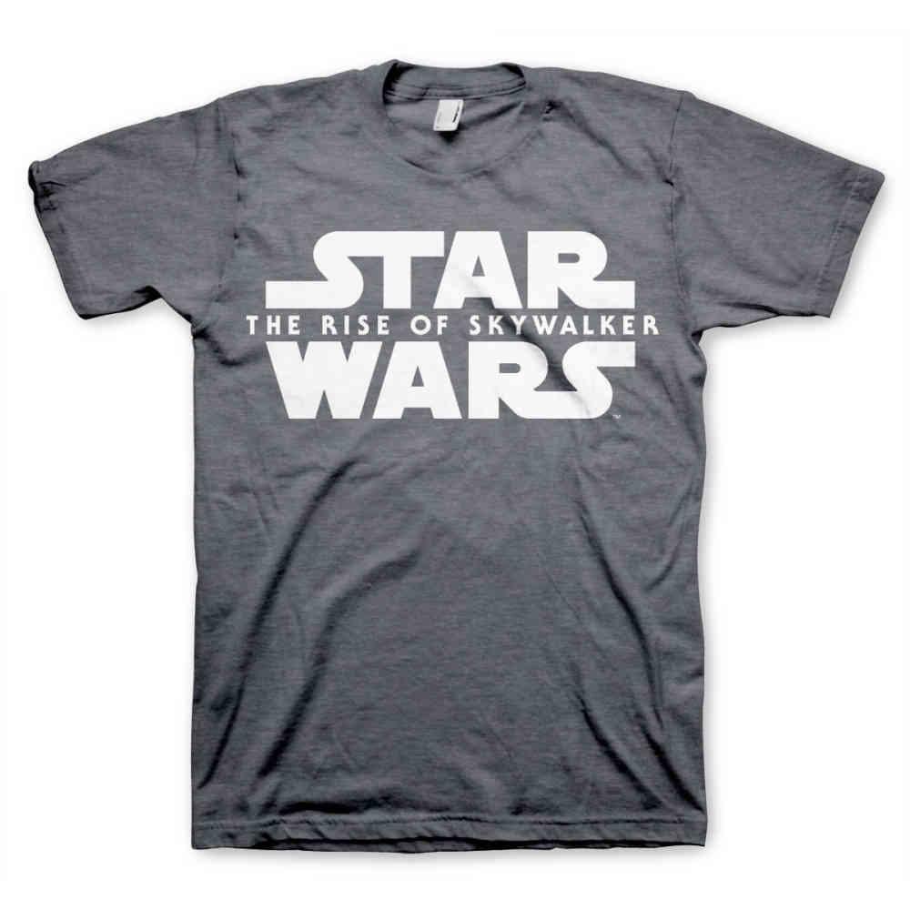 Star Wars Mens Tshirt The Rise Of Skywalker Grey Attitude Europe