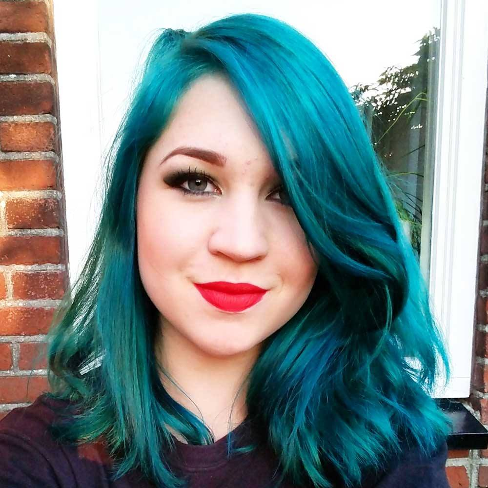 Arctic Fox Aquamarine Semi Permanent Hair Color Turquoise