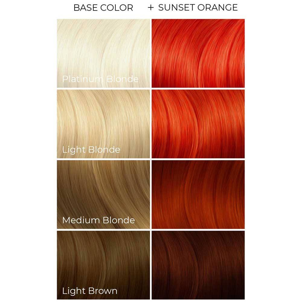 Arctic Fox Sunset Orange Semi Permanente Haarfarbe Orange