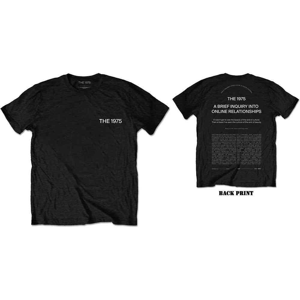 XL Black The 1975 She/'s American Men/'s T-shirt Shes Mens Tshirt