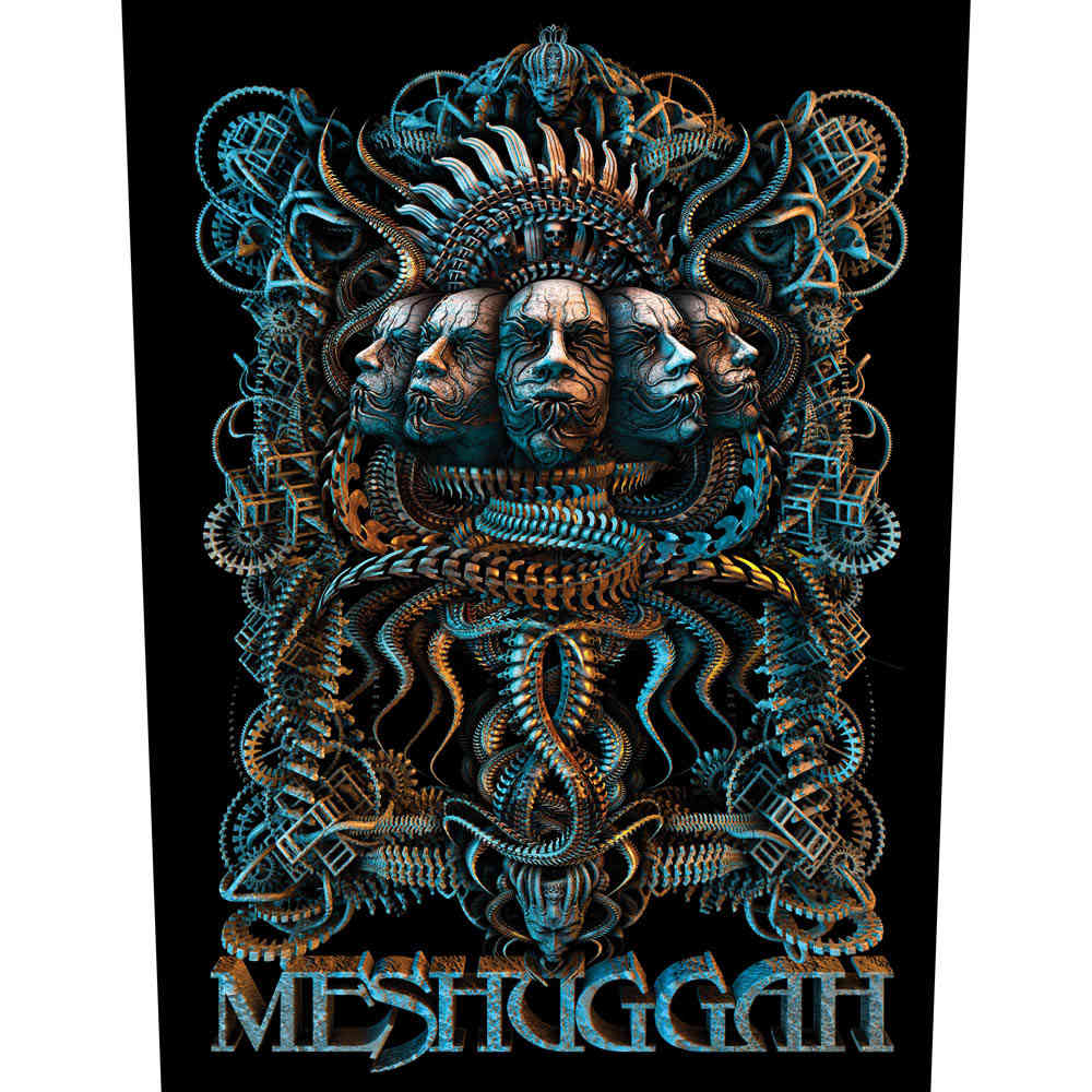 Meshuggah Crest Patch multicolore
