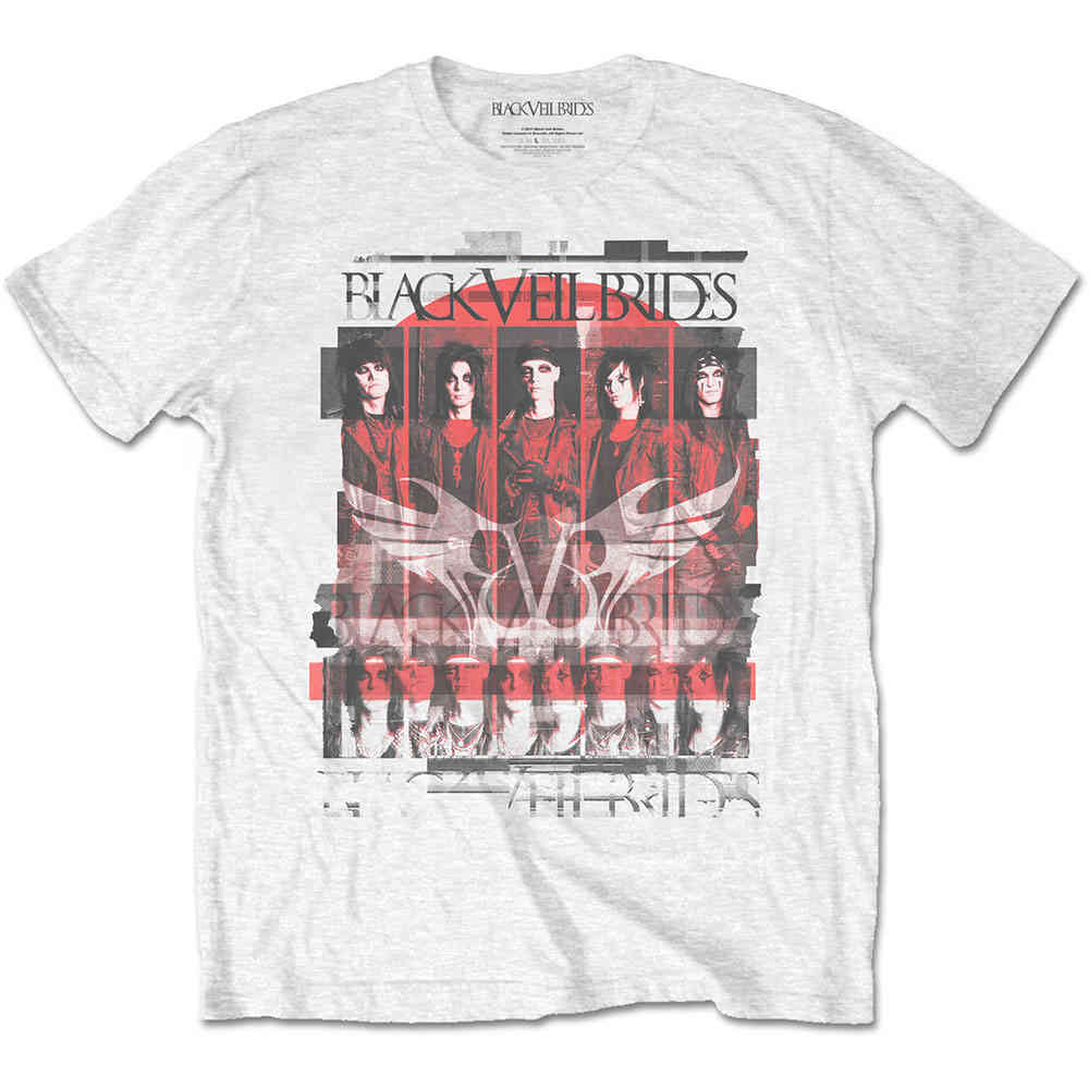 Scattering Mans Hives Band Slim Wild T Shirt