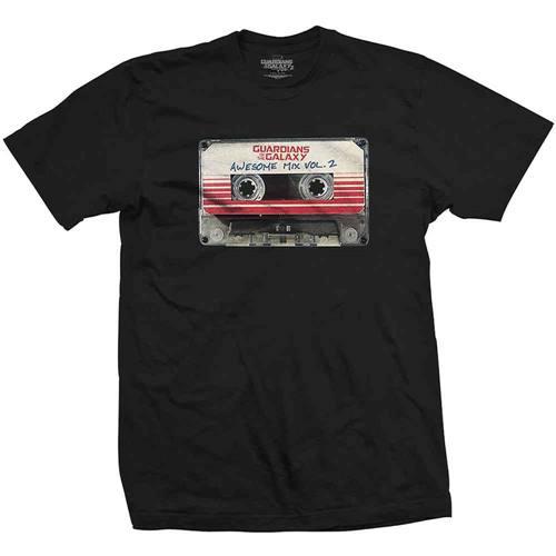 4dda73abf09e Guardians Of The Galaxy Heren T-shirt Vol. 2 Awesome Mix Zwart