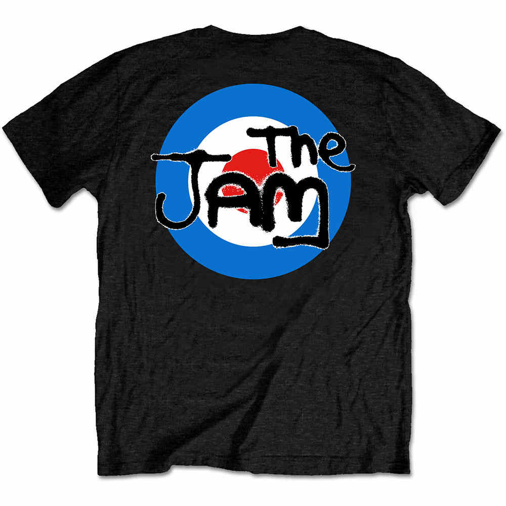 """The Jam /""""Logo/"""" Official T-Shirt Size Large"""