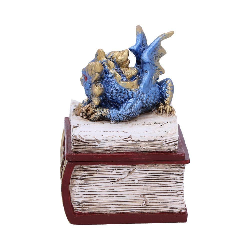 Nemesis Now Green Bedtime Stories Dragon Book Box Polyresin One Size