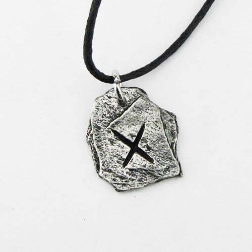 adc9feab516 Gebo Rune ketting tin - Asgard