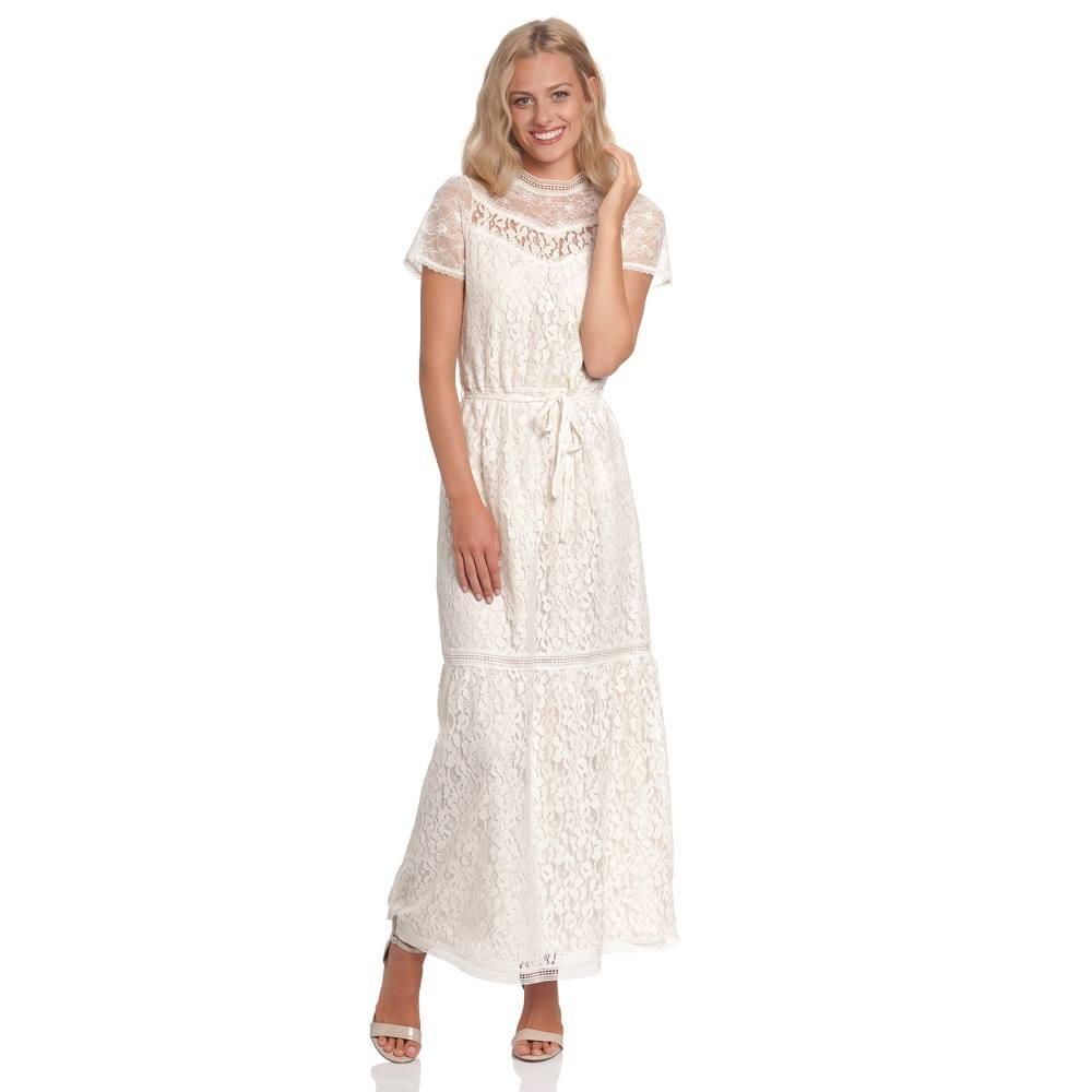 Vive Maria Vive Maria Maxi langes Kleid Dis Oui Weiß  Attitude