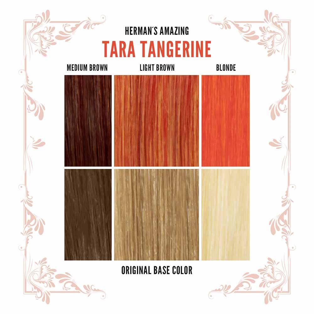 Tangerine-Brown Size Medium
